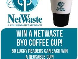 Winners Of NetWaste BYO Cup And A Free Onnies Coffee!