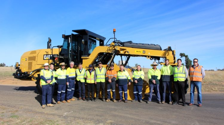 Brand New Road Mixer First For Parkes And Australia