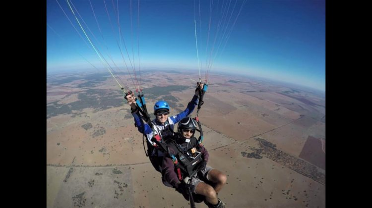 Trundle Flying High In Paragliding World
